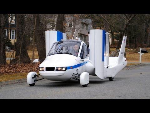 ► Flying Car - Terrafugia Transition street-legal aircraft