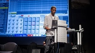Young Guru borrows a beat