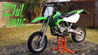 10. Kawasaki KX 65 Supermoto Walkaround