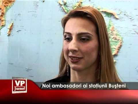 Noi ambasadori ai staţiunii Buşteni