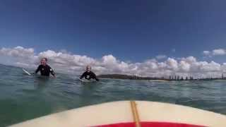 Redhead Australia  city photo : Surfing Redhead Beach Australia with Go Pro Footage