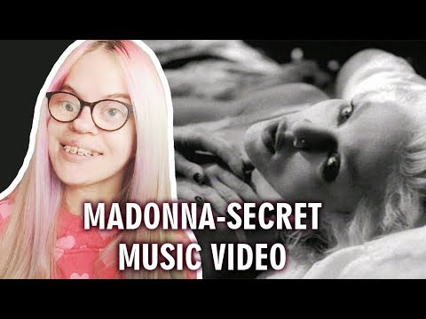 MADONNA - SECRET (MUSIC VIDEO REACTION) | Sisley Reacts
