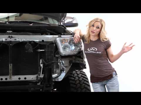 Expedition One 2008+ Tundra Front Winch Bumper, and Rear Bumper Install