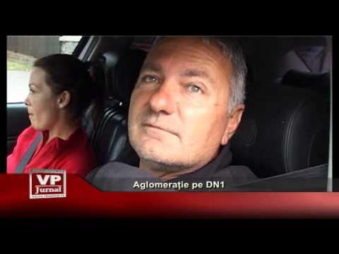 Aglomerație pe DN1