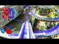 3D Video WaterSlide 3D Roller Coaster Ride for ANAGLYPH 3D GLASSES RED CYAN Log Flume RIDE HD 1080p