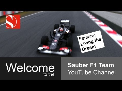 sauber - The dream of being a F1 driver; starting from pole; winning a race or even the championship. The Sauber F1 Team with drivers Nico Hlkenberg and Esteban Guti...