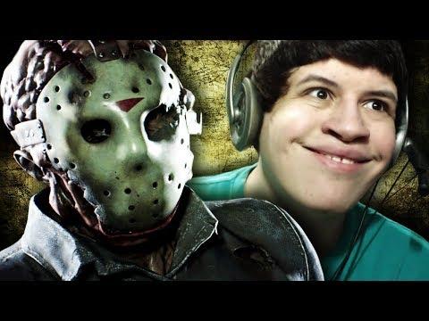 BICHO NÃO SAI DO MEU PÉ! - Friday the 13th: The Game