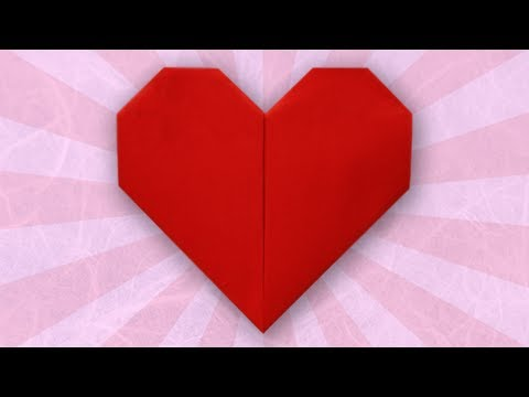 instructions - Difficulty (Simple) This video demonstrates how to fold an origami heart. This is a very simple model and it is perfect for all beginners! Enjoy t...