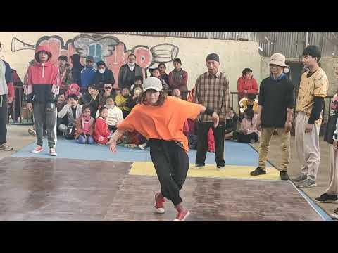 Bboy bgirl dance battle underground battle Nepal 2020