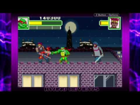 preview-Teenage Mutant Ninja Turtles: Fall of the Foot Clan & Turtles GBA Review 3 (Kwings)