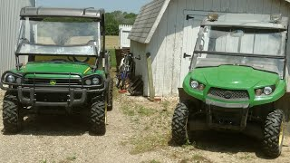 10. John Deere 550 Gator idle adjustment and checking hay