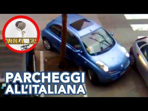 Parcheggio all'italiana