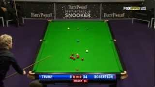 Snooker - 2012 Premier League - Week10 - SF2 - Trump V Robertson