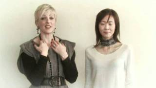 Jackie O'Fee show you how we can accessorise with scarves