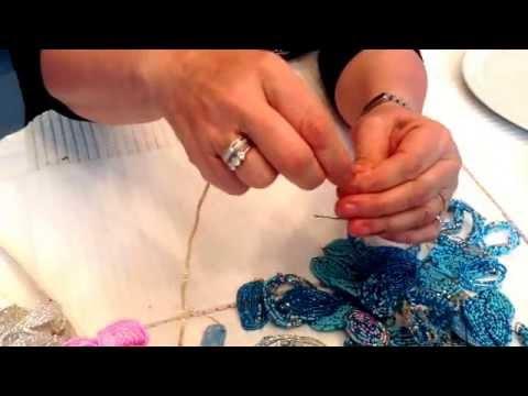 Creazioni di Licena: Tutorial fiori di perle veneziane parte 1