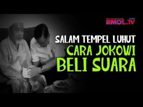 Salam Tempel Luhut, Cara Jokowi Beli Suara