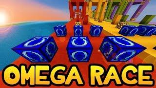 Minecraft *NEW* OMEGA LUCKY BLOCK RACE! (Herobrine, ANTI-BOB, and Omega Hoe)