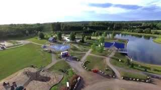 Whitecourt (AB) Canada  City pictures : Fly Over of Whitecourt's Rotary Park