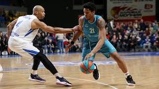 Hightlits of the match — VTB United league: «Enisey» vs «Astana»