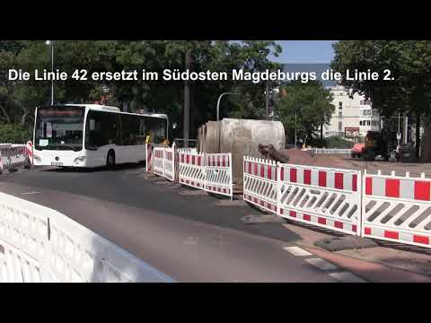 Bus statt Bahn in Magdeburg-Buckau - bis Mitte August ...