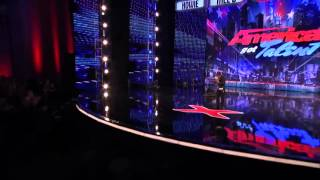 Kenichi Ebina Performs His Matrix Style Robot Dance   America's Got Talent 2013