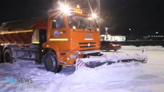 Талдыкорган завалило снегом