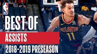 The Best Assists of the 2018-2019 NBA Preseason