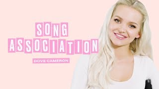 Dove Cameron Sings Miley Cyrus, Queen and Journey in a Game of Song Association | ELLE