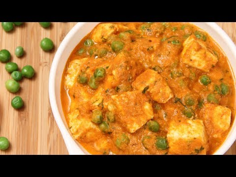 Mutter Paneer – Indian Homemade Maincourse Recipe By Ruchi Bharani