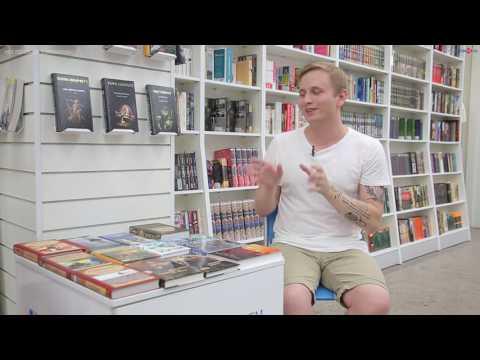 Виталий Маршак: чтение - хобби (видео)
