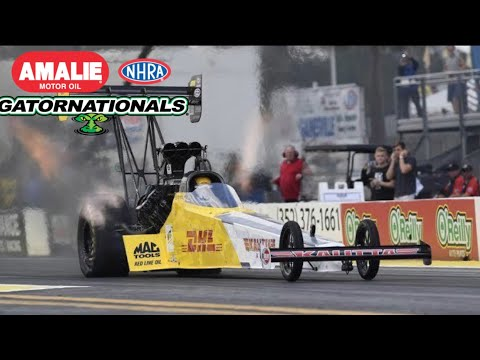 2018 NHRA Gatornationals | Top Fuel Eliminations