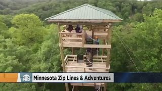 Nisswa (MN) United States  City pictures : Interview: Minnesota Zip Lines & Adventures Expands To Brainerd Lakes Area