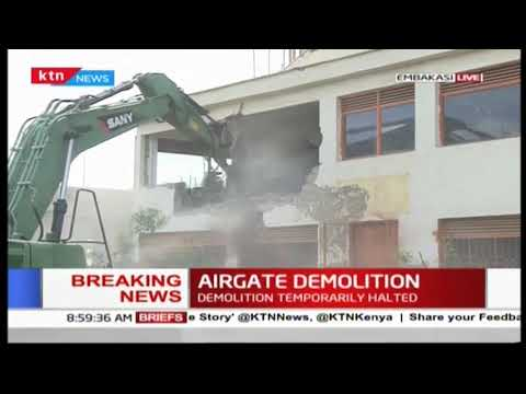 BREAKING NEWS: AIRGATE DEMOLITION