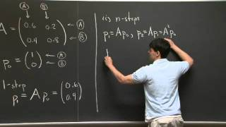 Markov Matrices | MIT 18.06SC Linear Algebra, Fall 2011
