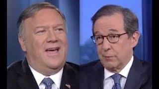 Pompeo LOSES IT on Fox host when pressed on Trump's collusion invite