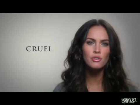 Megan Fox Peer Pressure PSA