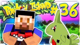 THE PERFECT LARVITAR - PIXELMON ISLAND SMP #36 (Pokemon Go Minecraft Mod)
