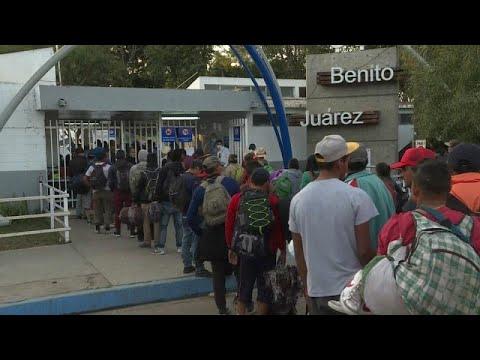 Στην Τιχουάνα ακόμη ένα καραβάνι μεταναστών