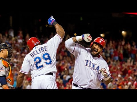 Texas Rangers 2016 Season Highlights