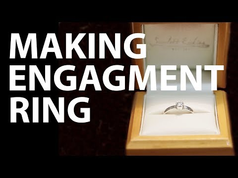 Guy Learns to Make an Engagement Ring Completely from Scratch to Surprise His