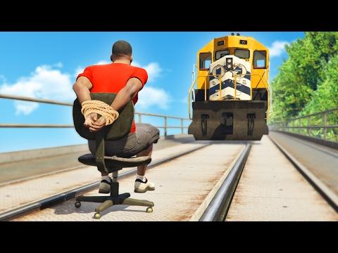 GTA 5 FAILS - #23 (GTA 5 Funny Moments Compilation) (видео)
