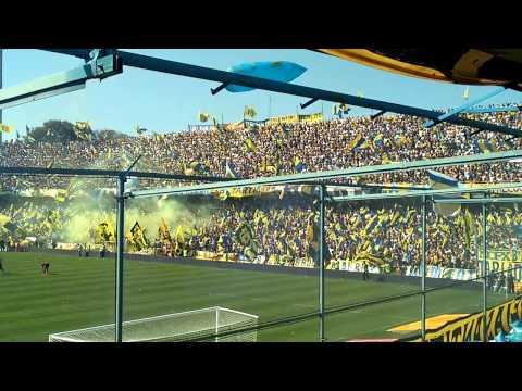 Video - Recibimiento CANALLA 13/09/2015 - Los Guerreros - Rosario Central - Argentina