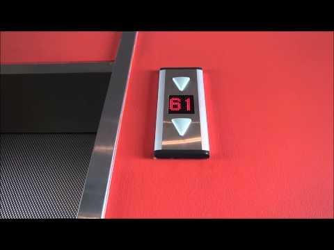 December Video! KONE High Speed Traction Elevator @ Q1 Tower Gold Coast (видео)