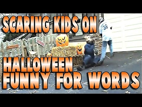Scaring kids on HALLOWEEN… TO FUNNY FOR WORDS :) PRANKS