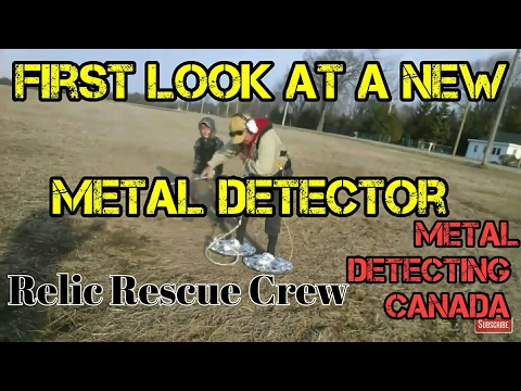 First look at a new relic hunting metal detector.