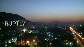 Live from Damascus amid reports of explosions after Trump orders strikes against Syria