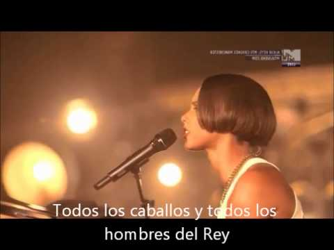 Alicia Keys. Not Even The King (Subtitulada)