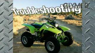 4. Clymer Manuals Kawasaki Mojave KSF250 ATV 4 Wheeler Maintenance Repair Shop Manual Video