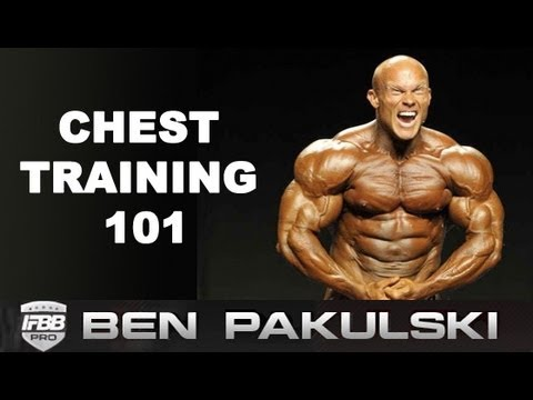 Ben Pakulski Chest Training Tips (THICK UPPER CHEST)