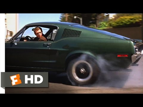 Bullitt (1968) - San Francisco Car Chase Scene (4/10) | Movieclips